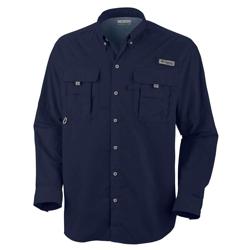 コロンビア メンズ ハイキング・登山 トップス【Columbia Bahama II LS Shirt】Collegiate Navy