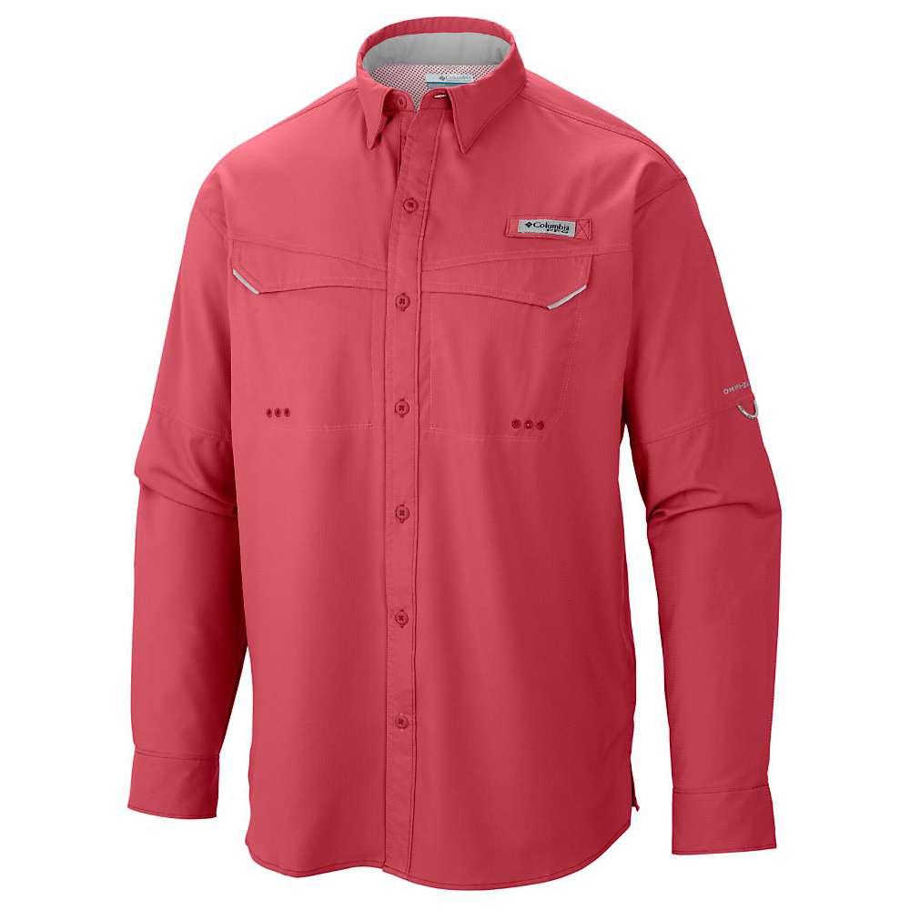 コロンビア メンズ ハイキング・登山 トップス【Columbia Low Drag Offshore LS Shirt】Sunset Red