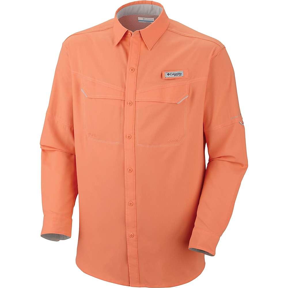 コロンビア メンズ ハイキング・登山 トップス【Columbia Low Drag Offshore LS Shirt】Bright Peach