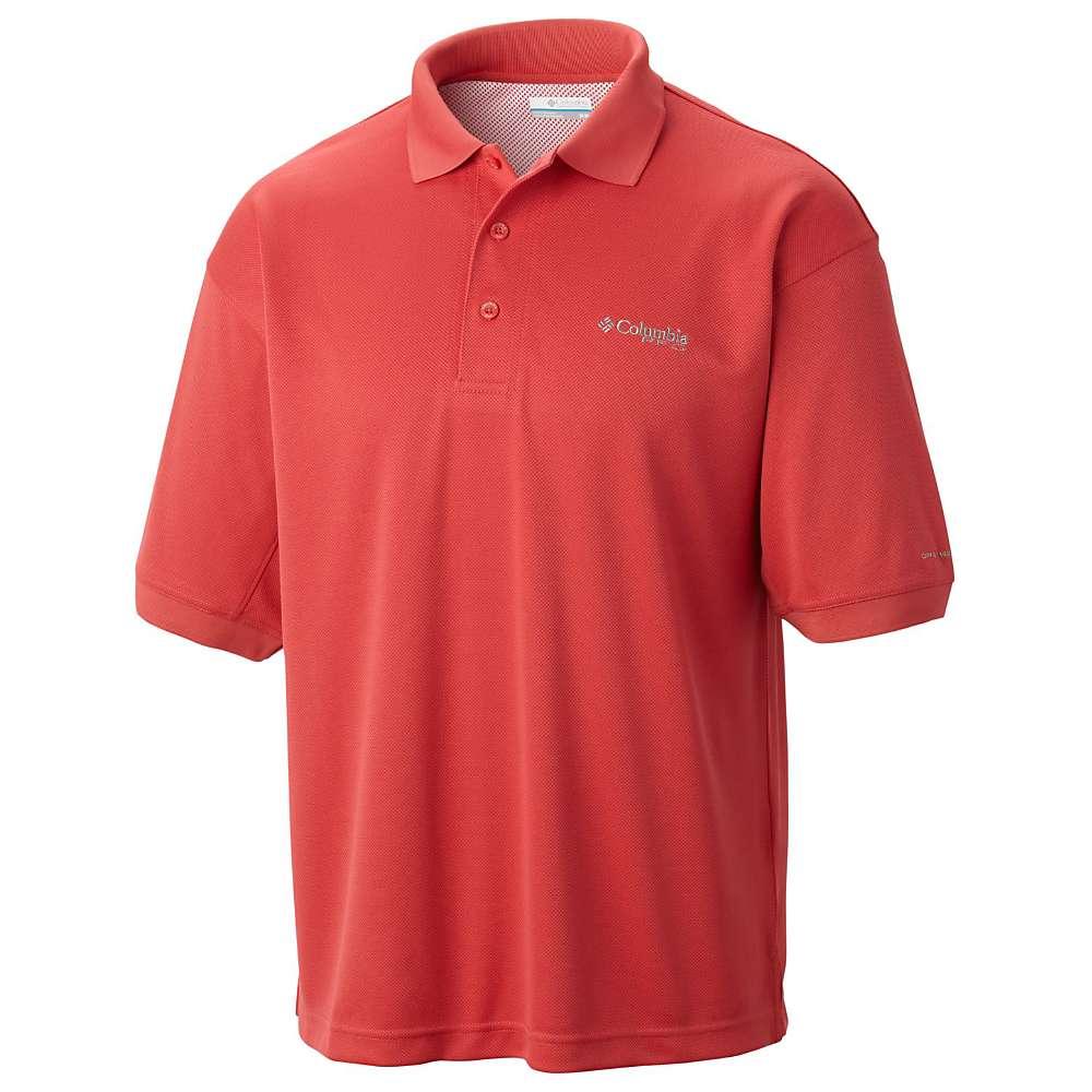 コロンビア メンズ ハイキング・登山 トップス【Columbia Perfect Cast Polo Shirt】Sunset Red