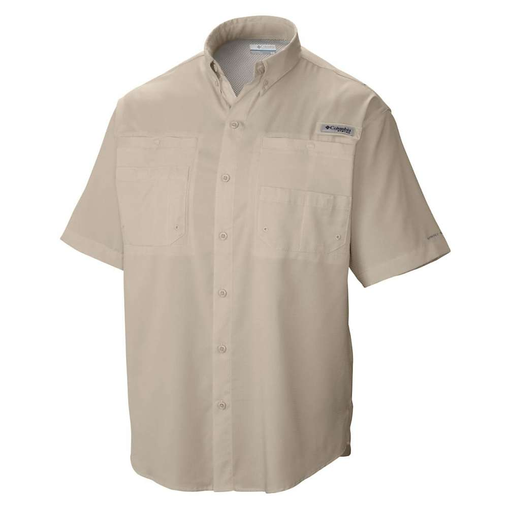 コロンビア メンズ ハイキング・登山 トップス【Columbia Tamiami II SS Shirt】Fossil