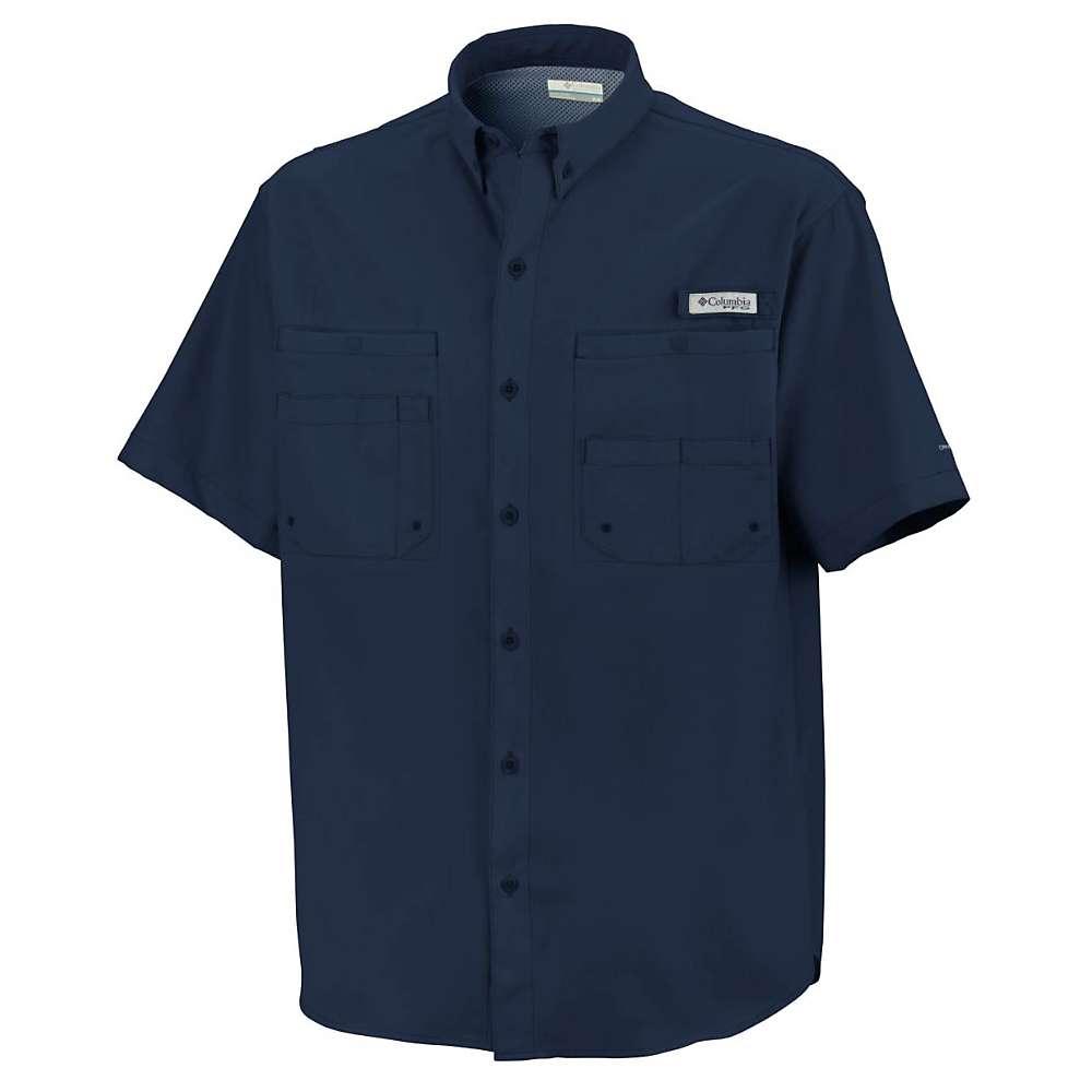 コロンビア メンズ ハイキング・登山 トップス【Columbia Tamiami II SS Shirt】Collegiate Navy