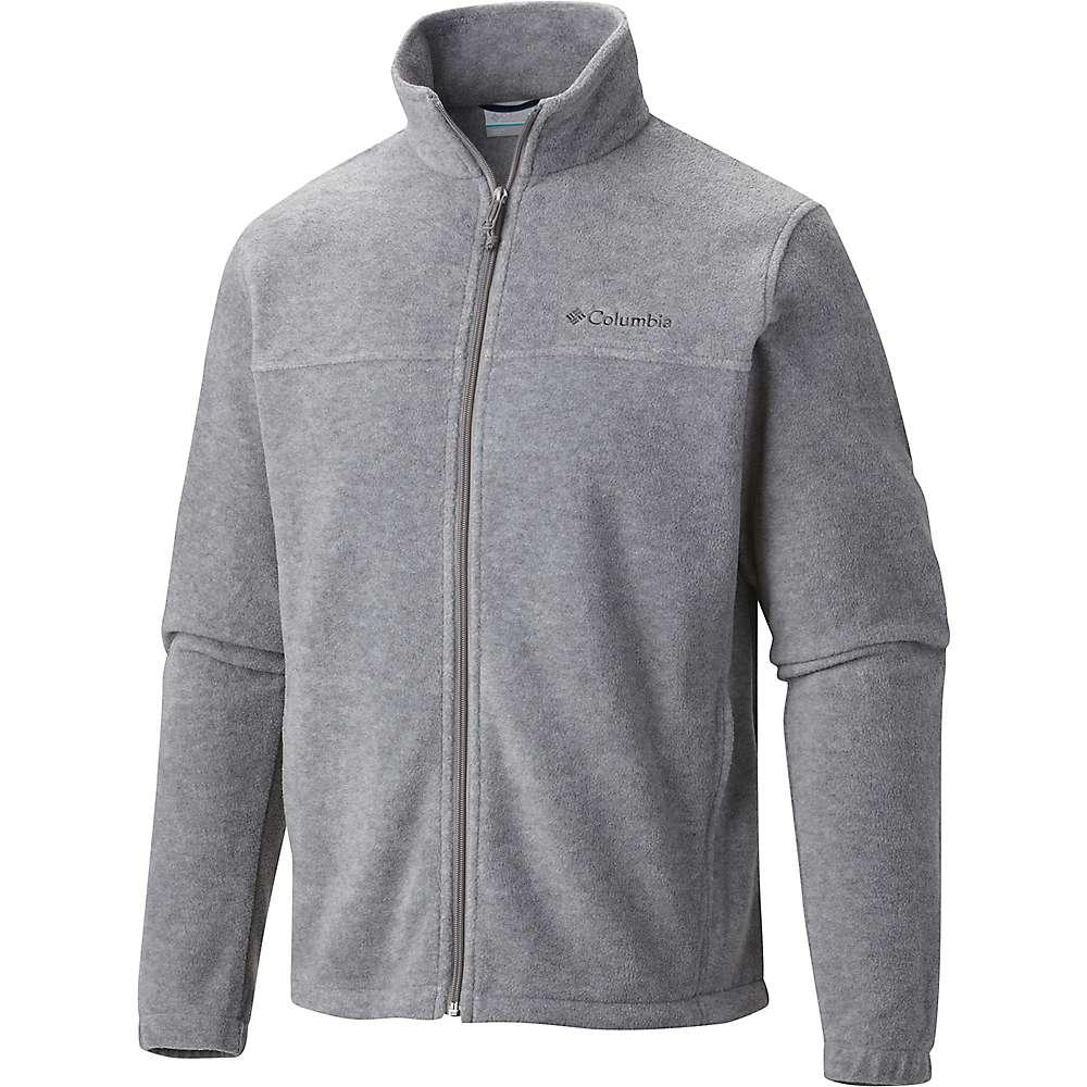 コロンビア メンズ ハイキング・登山 アウター【Columbia Steens Mountain Full Zip 2.0 Jacket】Light Grey Heather