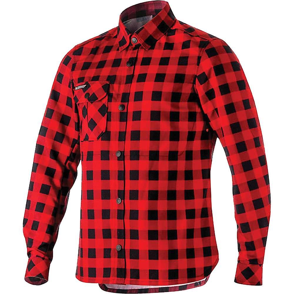 アルパインスターズ メンズ 自転車 トップス【Alpine Stars Andres Tech Shirt】Black / Rio Red