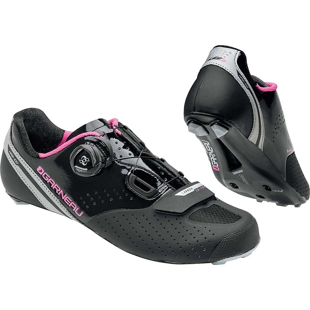 ルイスガーナー レディース 自転車 シューズ・靴【Louis Garneau Carbon LS-100 II Shoe】Black / Pink