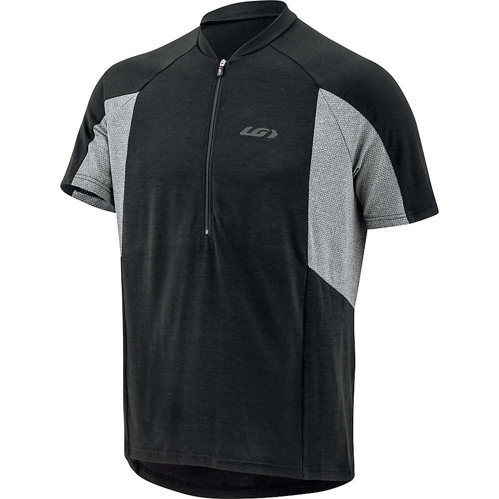 ルイスガーナー メンズ 自転車 トップス【Louis Garneau Connection Jersey】Black / Grey