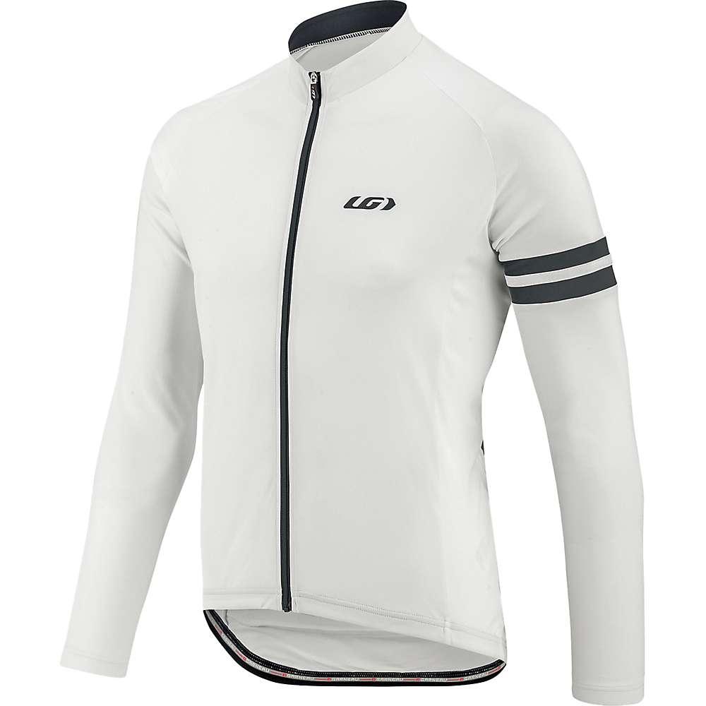 ルイスガーナー メンズ 自転車 トップス【Louis Garneau Evans Classic LS Jersey】White / Grey