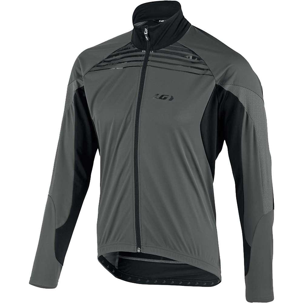 ルイスガーナー メンズ 自転車 アウター【Louis Garneau Glaze RTR Jacket】Black / Grey