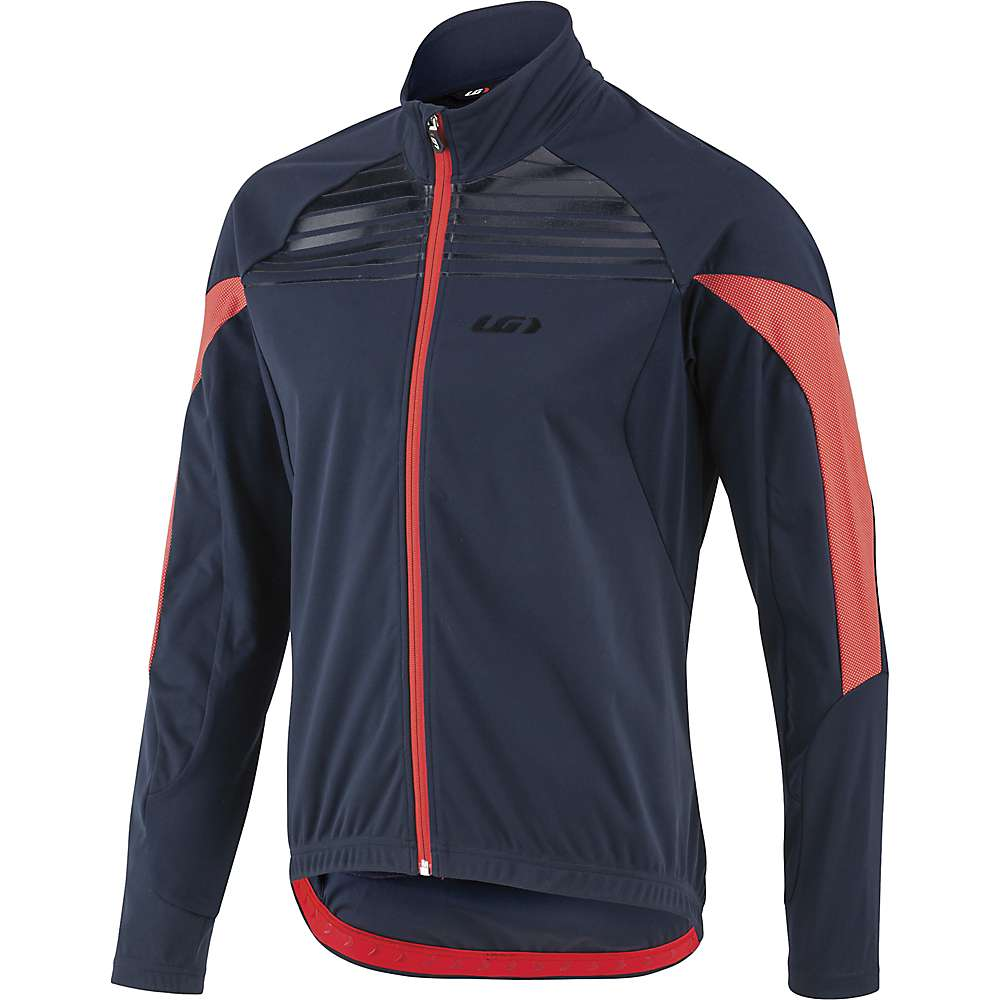 ルイスガーナー メンズ 自転車 アウター【Louis Garneau Glaze RTR Jacket】Red / Navy