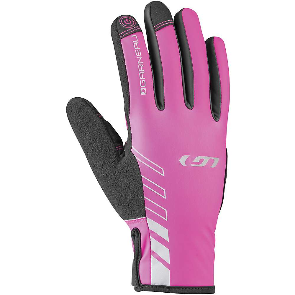 ルイスガーナー レディース 自転車 グローブ【Louis Garneau Rafale 2 Glove】Black / Pink