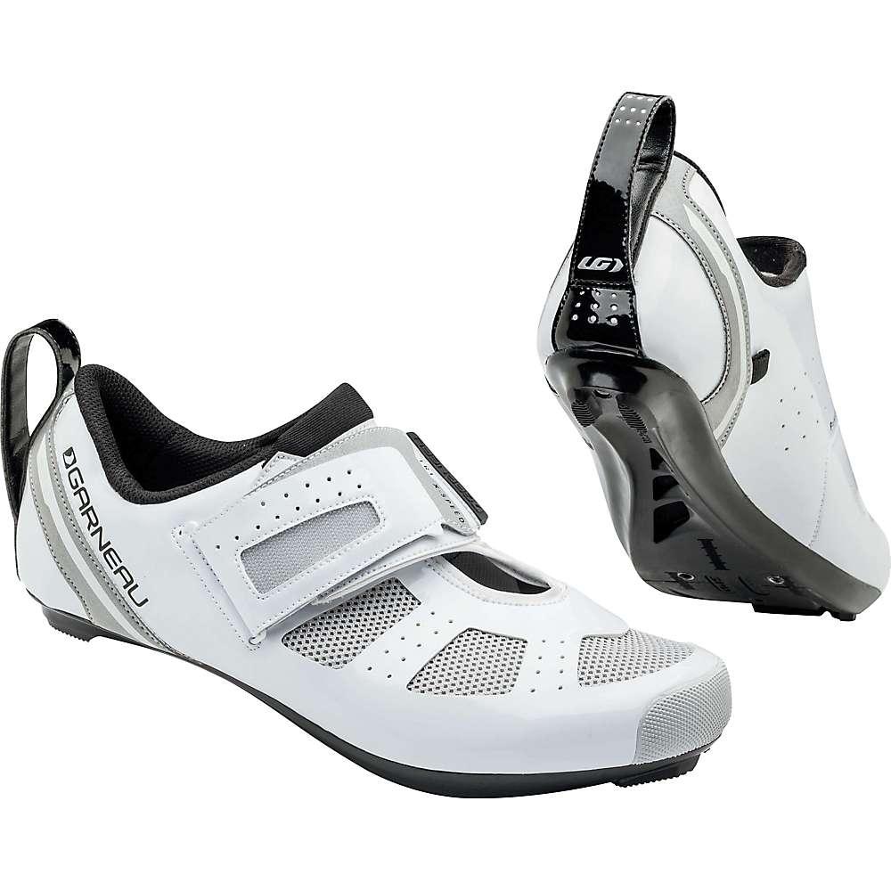 ルイスガーナー メンズ 自転車 シューズ・靴【Louis Garneau Tri X-Speed III Shoe】White / Drizzle