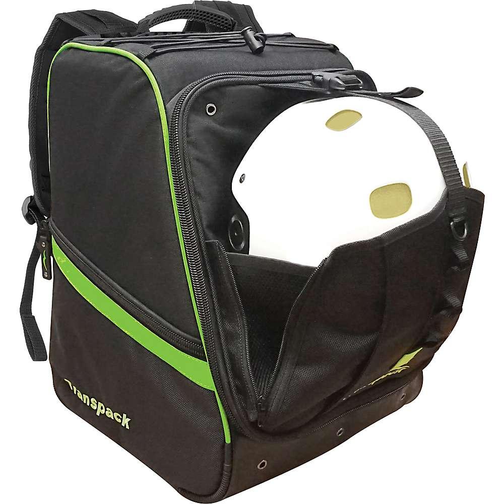 トランスパック ユニセックス スキー・スノーボード【Transpack Pro Series Boot Vault Pro Boot Bag】Black / Lime Electric