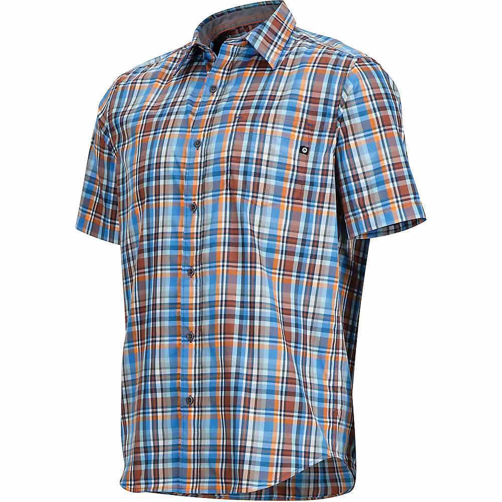 マーモット メンズ ハイキング・登山 トップス【Marmot Dobson SS Shirt】Lakeside