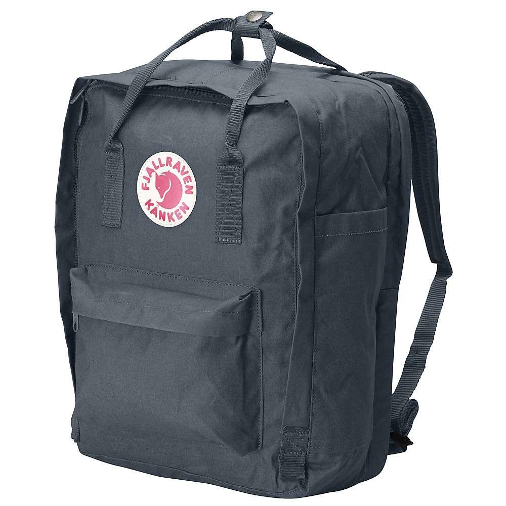 フェールラーベン メンズ ハイキング・登山【Fjallraven Kanken 15 Inch Laptop Bag】Graphite