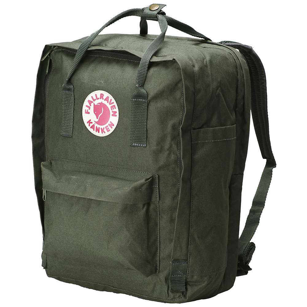 フェールラーベン メンズ ハイキング・登山【Fjallraven Kanken 15 Inch Laptop Bag】Forest Green