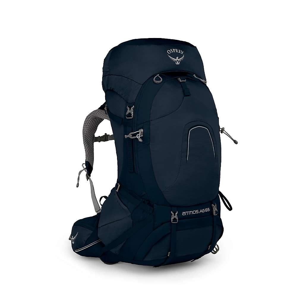 オスプレー メンズ ハイキング・登山【Osprey Atmos AG 65 Pack】Unity Blue