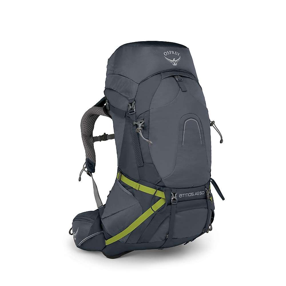 オスプレー メンズ ハイキング・登山【Osprey Atmos AG 65 Pack】Abyss Grey