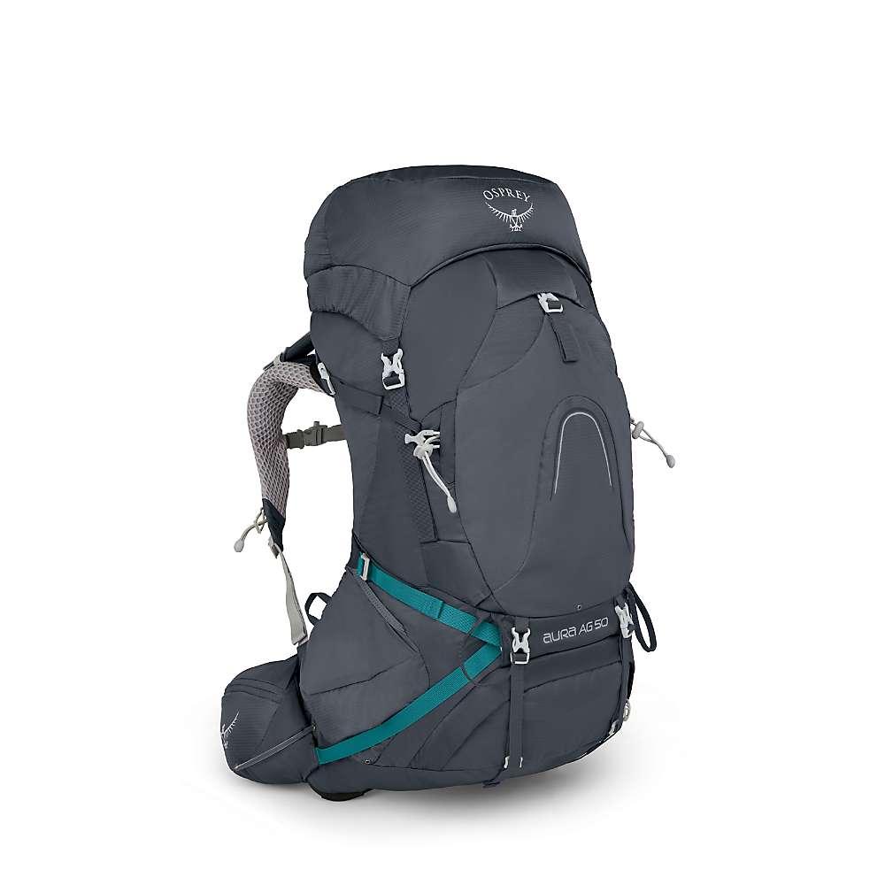 オスプレー レディース ハイキング・登山【Osprey Aura AG 50 Pack】Vestal Grey