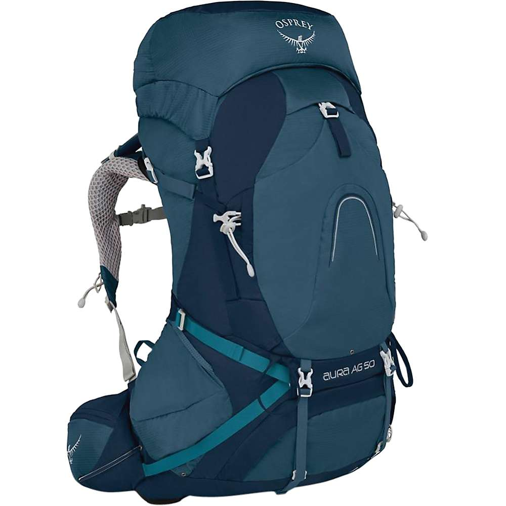 オスプレー レディース ハイキング・登山【Osprey Aura AG 50 Pack】Challenger Blue