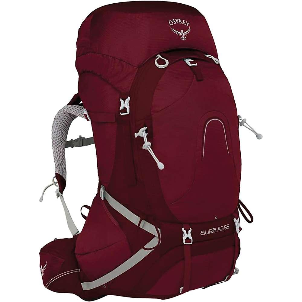オスプレー レディース ハイキング・登山【Osprey Aura AG 65 Pack】Gamma Red