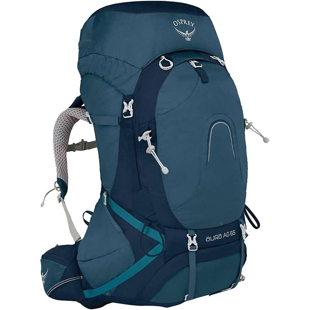 オスプレー レディース ハイキング・登山【Osprey Aura AG 65 Pack】Challenger Blue