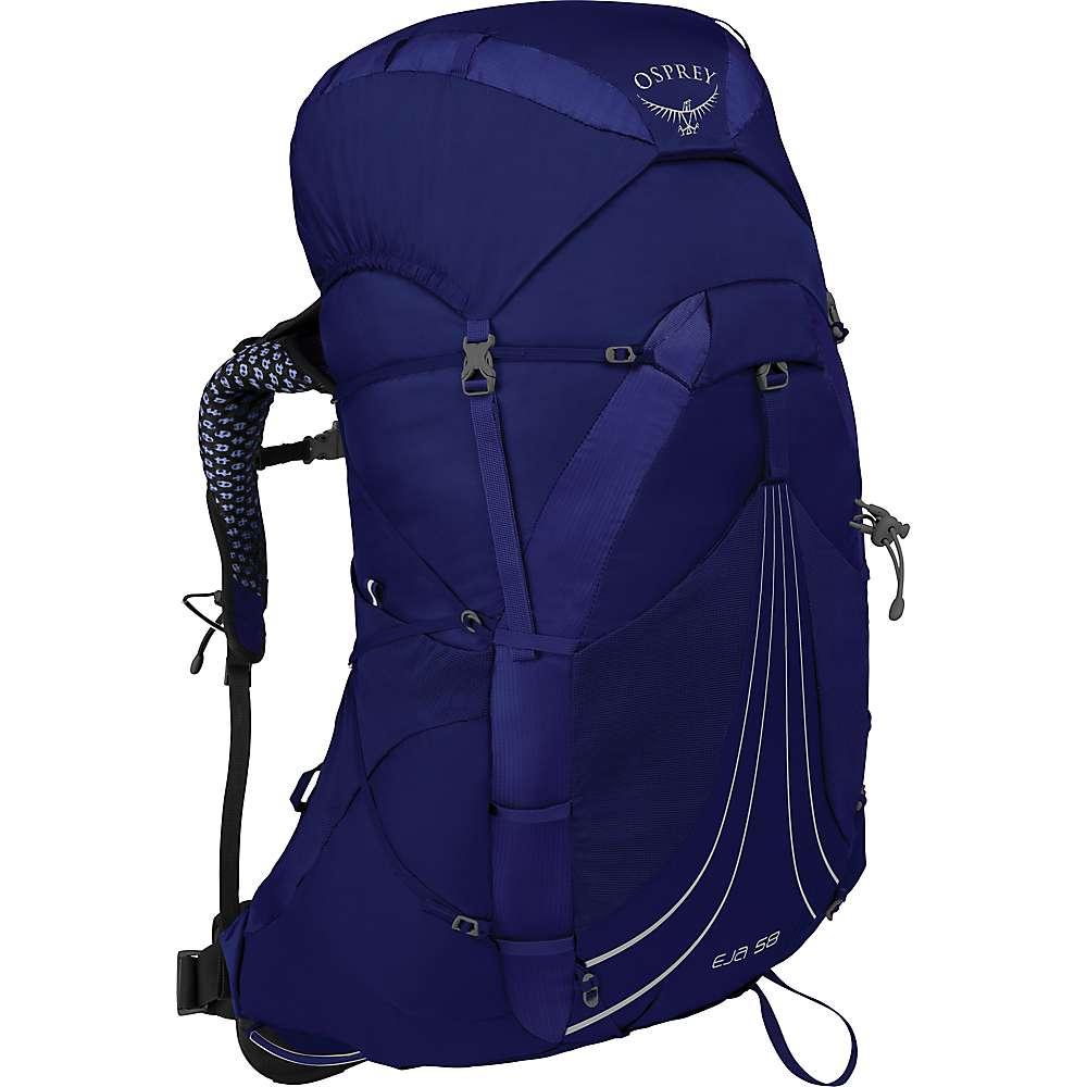 オスプレー レディース ハイキング 登山 その他ハイキング 登山用品 Equinox サイズ交換無料 Eja Osprey Blue 注文後の変更キャンセル返品 好評受付中 Pack 58