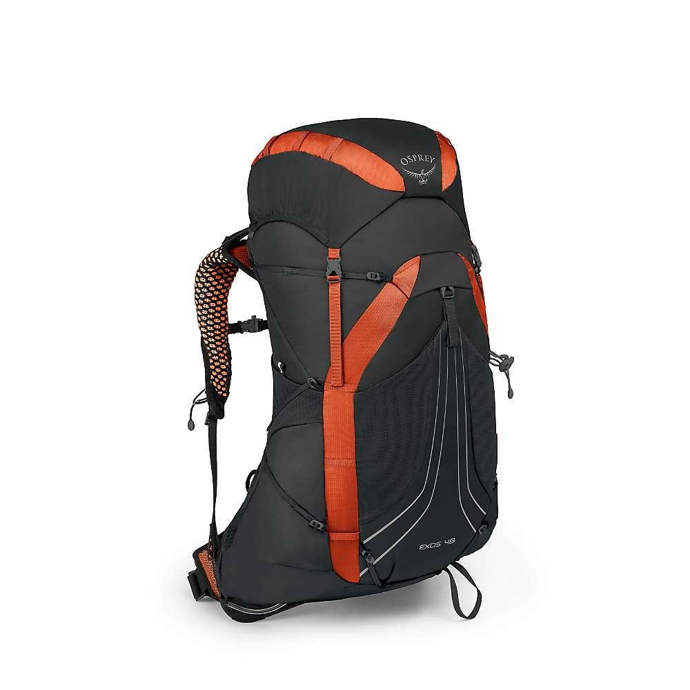 オスプレー メンズ ハイキング・登山【Osprey Exos 58 Pack】Blaze Black
