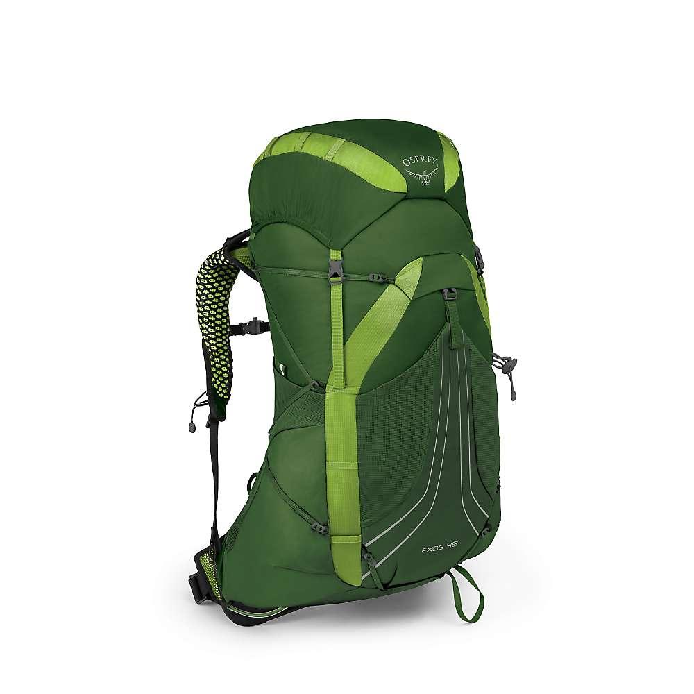 オスプレー メンズ ハイキング・登山【Osprey Exos 58 Pack】Tunnel Green