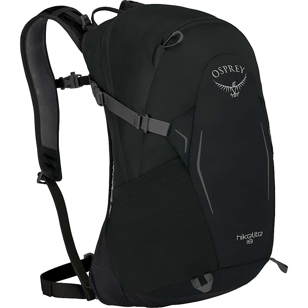 オスプレー ユニセックス ハイキング・登山【Osprey Hikelite 18 Pack】Black