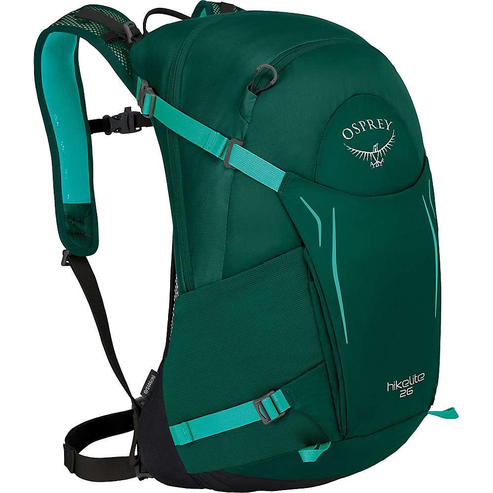オスプレー ユニセックス ハイキング・登山【Osprey Hikelite 26 Pack】Aloe Green
