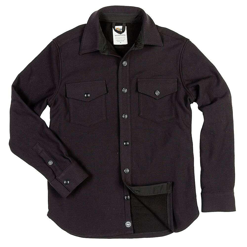 ダックワース メンズ ハイキング・登山 トップス【Duckworth Hi Line Shirt】black