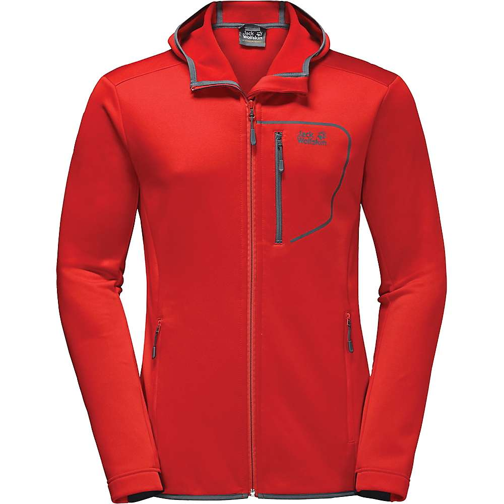 ジャックウルフスキン メンズ スキー・スノーボード アウター【Jack Wolfskin Andean Plateau Jacket】Fiery Red
