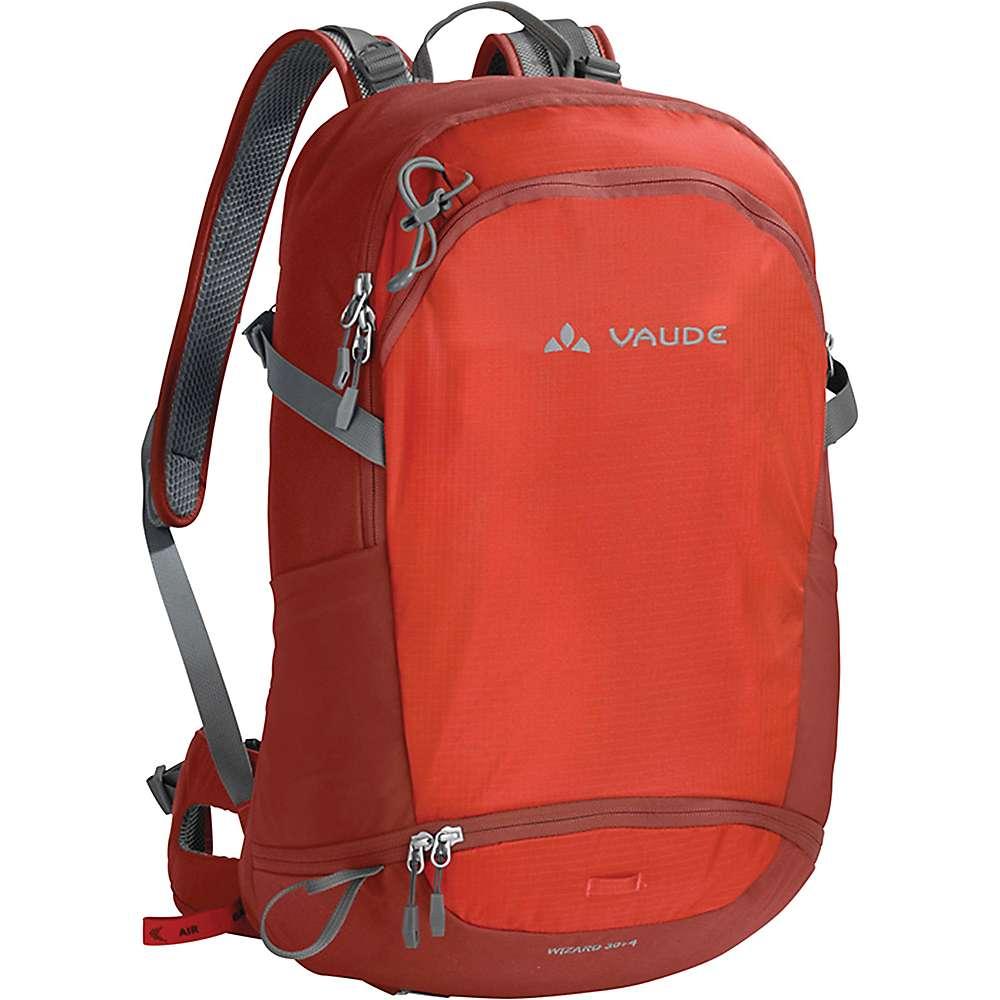 ファウデ ユニセックス ハイキング・登山【Vaude Wizard 30+4 Backpack】Lava