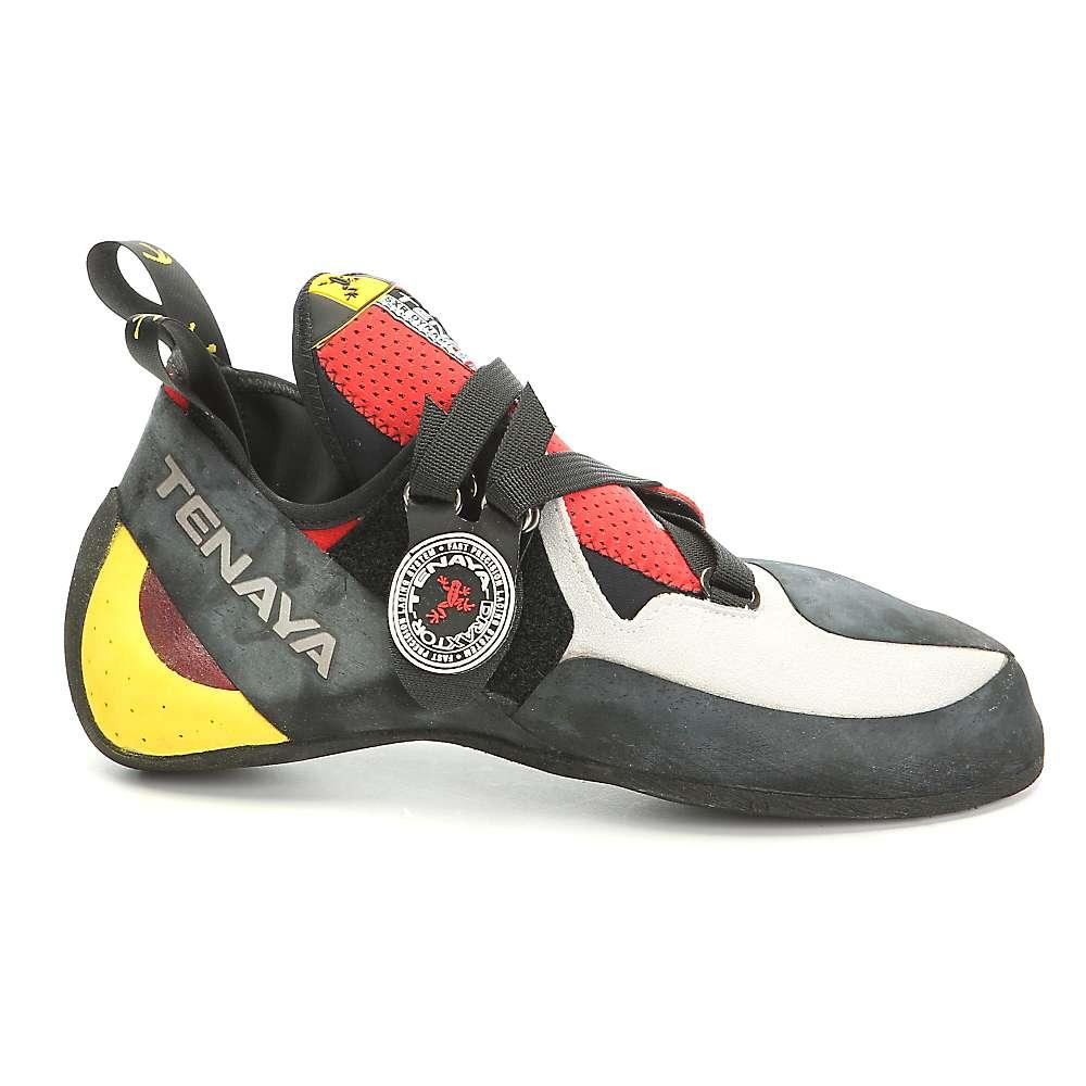 テナヤ メンズ クライミング シューズ・靴【Iati Climbing Shoe】White / Red