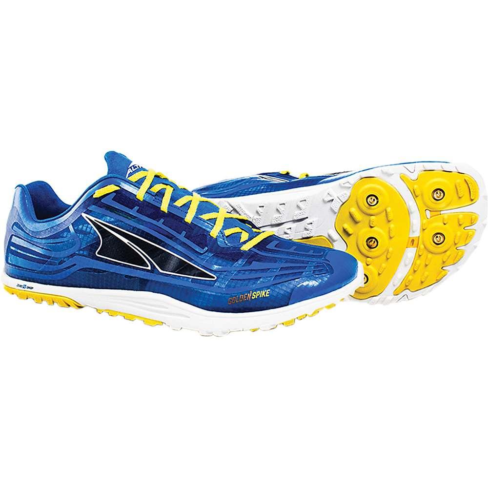アルトラ メンズ ランニング・ウォーキング シューズ・靴【Golden Spike Shoe】Blue