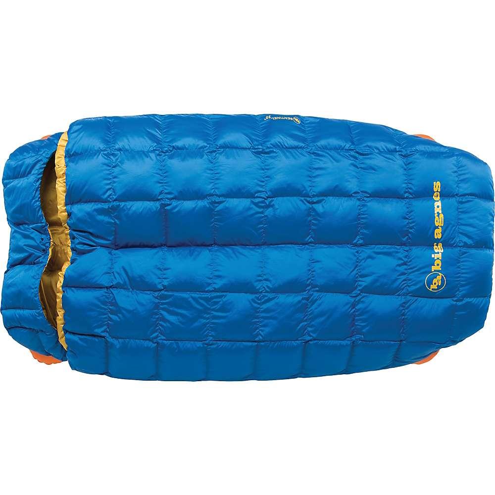 ビッグアグネス メンズ ハイキング・登山【Sentinel 30 Degree Sleeping Bag】Blue