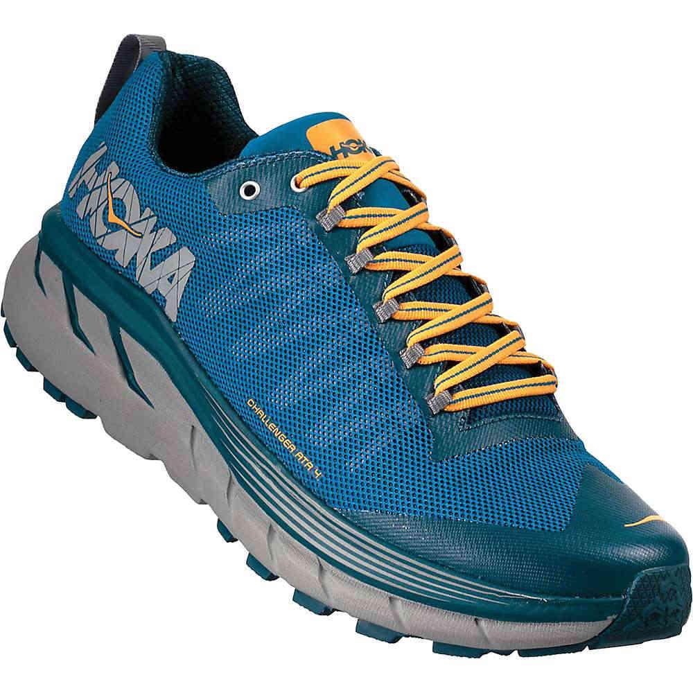 ホカ オネオネ メンズ 陸上 シューズ・靴【Challenger ATR 4 Shoe】Mykonos Blue / Legion Blue