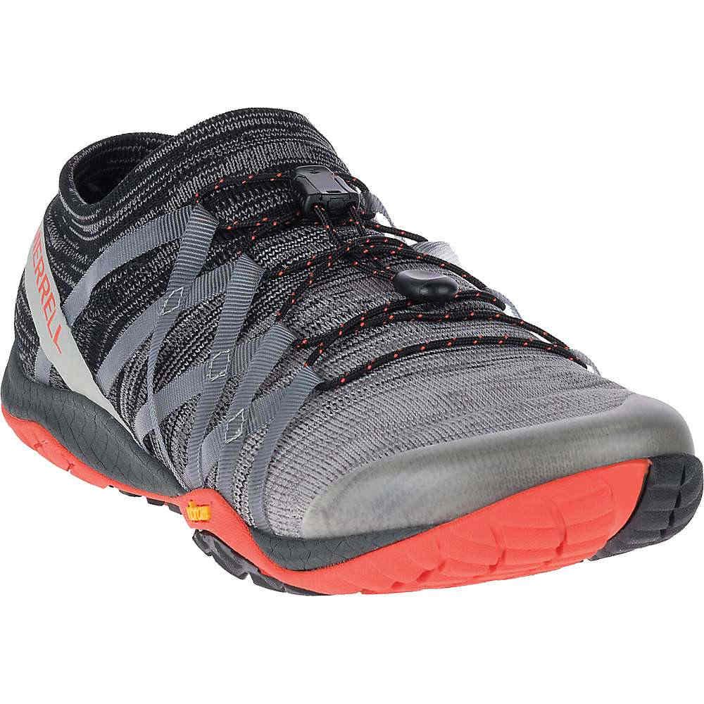 メレル メンズ 陸上 シューズ・靴【Trail Glove 4 Knit Shoe】Charcoal