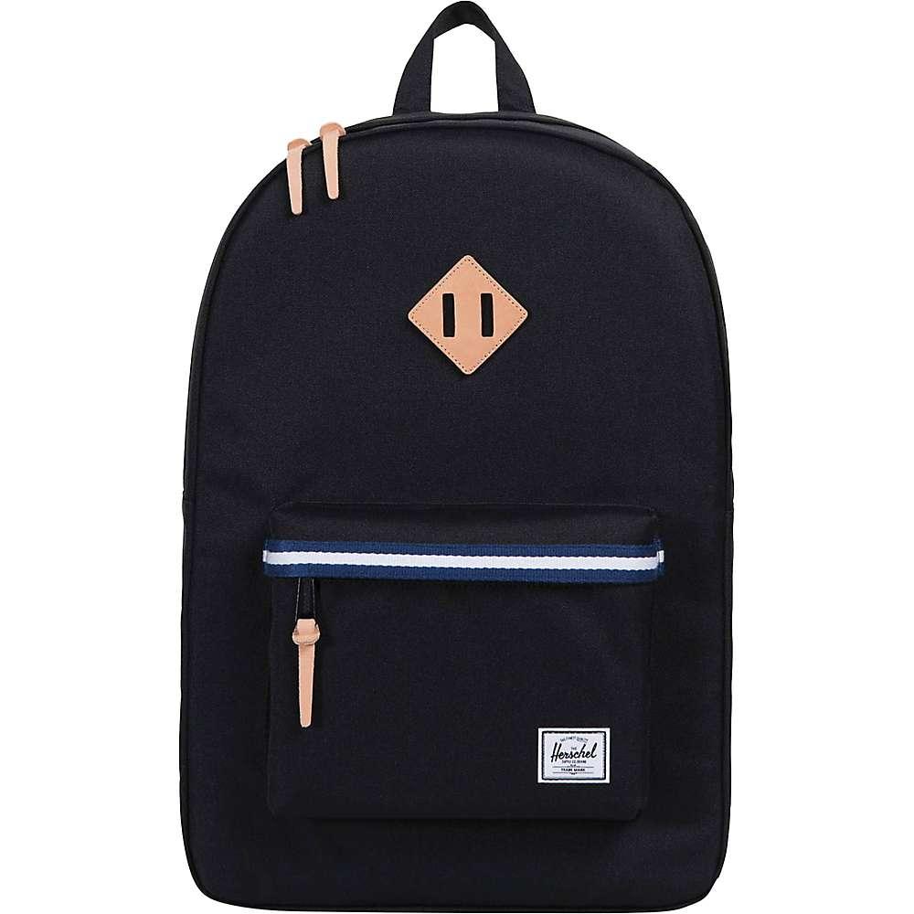 ハーシェル White パソコンバッグ【Heritage サプライ Blueprint バッグ / ユニセックス / Backpack】Black