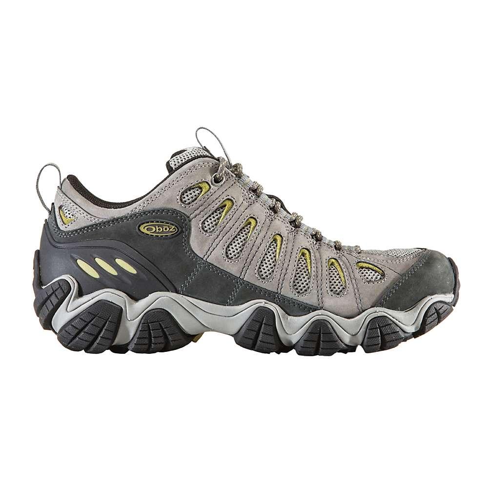 オボズ メンズ ハイキング・登山 シューズ・靴【Wide Sawtooth Low Shoe】Pewter