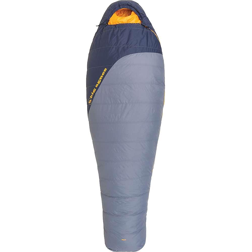 ビッグアグネス メンズ ハイキング・登山【Spike Lake 15 Degree Sleeping Bag】Flint / Navy