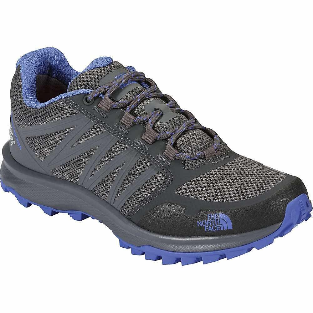 ザ ノースフェイス レディース ハイキング・登山 シューズ・靴【Litewave Fastpack Waterproof Shoe】Zinc Grey / Amparo Blue