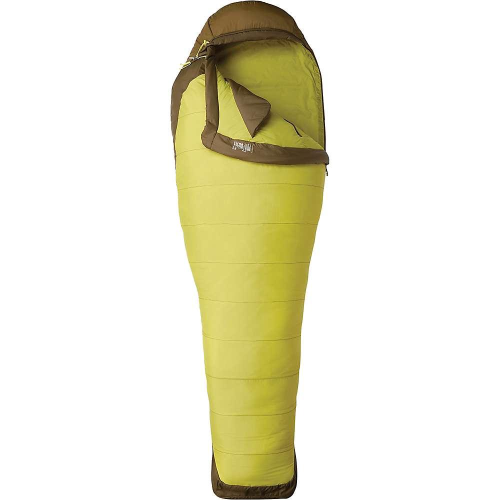 マーモット レディース ハイキング・登山【Trestles Elite 30 Sleeping Bag】Citronelle / Fir Green