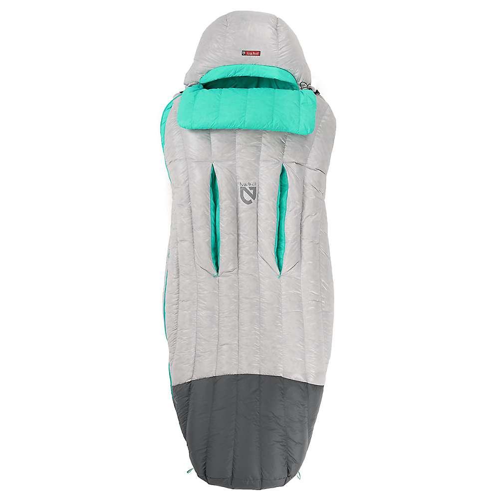 ネモ レディース ハイキング・登山【Jam 30 Sleeping Bag】Aluminum / Sea Glass