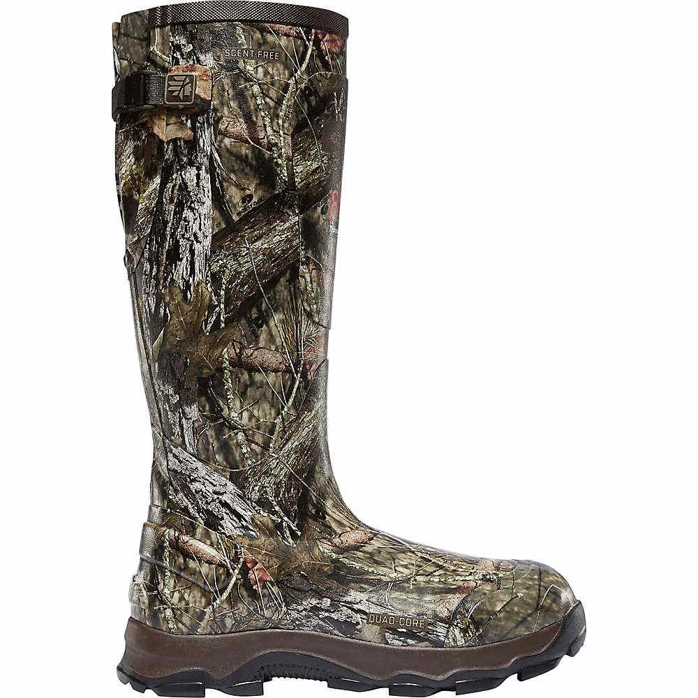 ラクロッセ メンズ ハイキング・登山 シューズ・靴【4xBurly 800G Boot】Mossy Oak Break Up Country