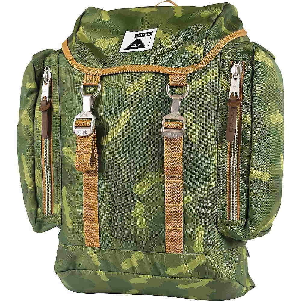 ポーラー ユニセックス バッグ バックパック・リュック【Rucksack Pack】Green Camo
