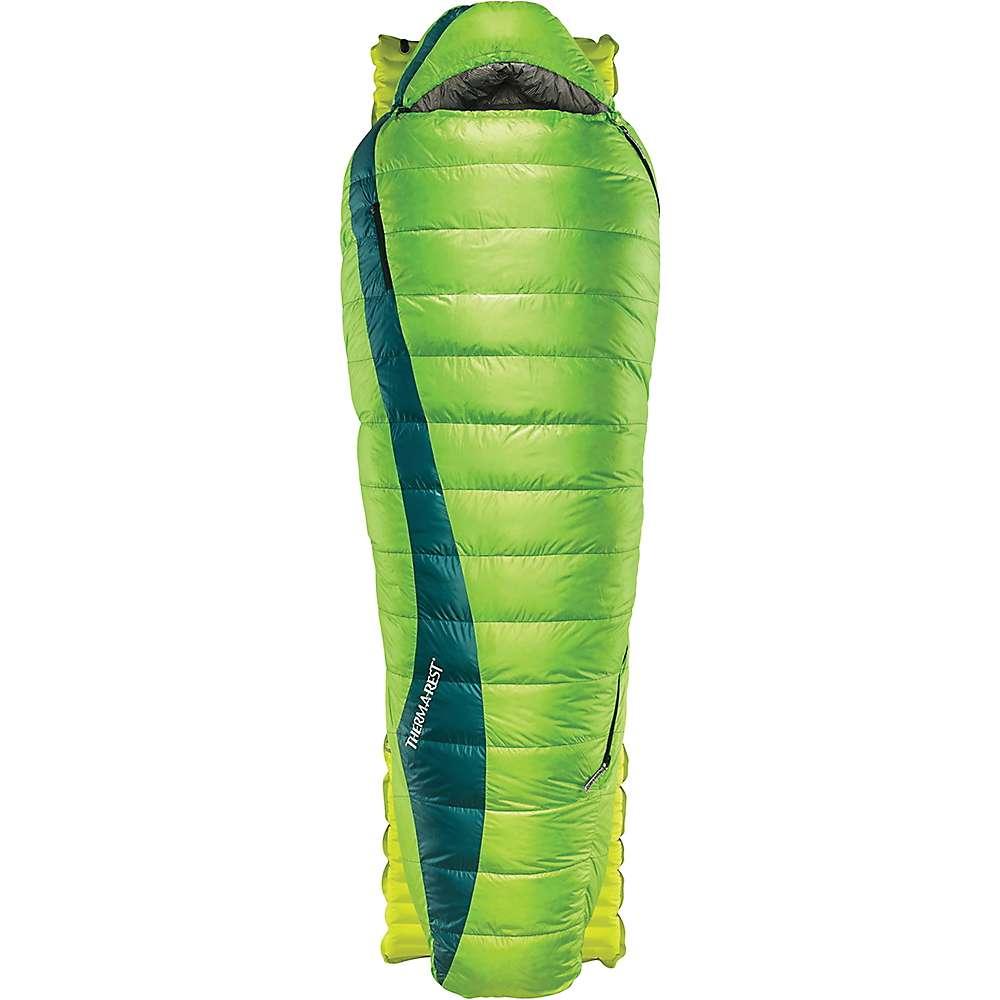 サーマレスト メンズ ハイキング・登山【Therm-a-Rest Questar HD Sleeping Bag】Gemini Green