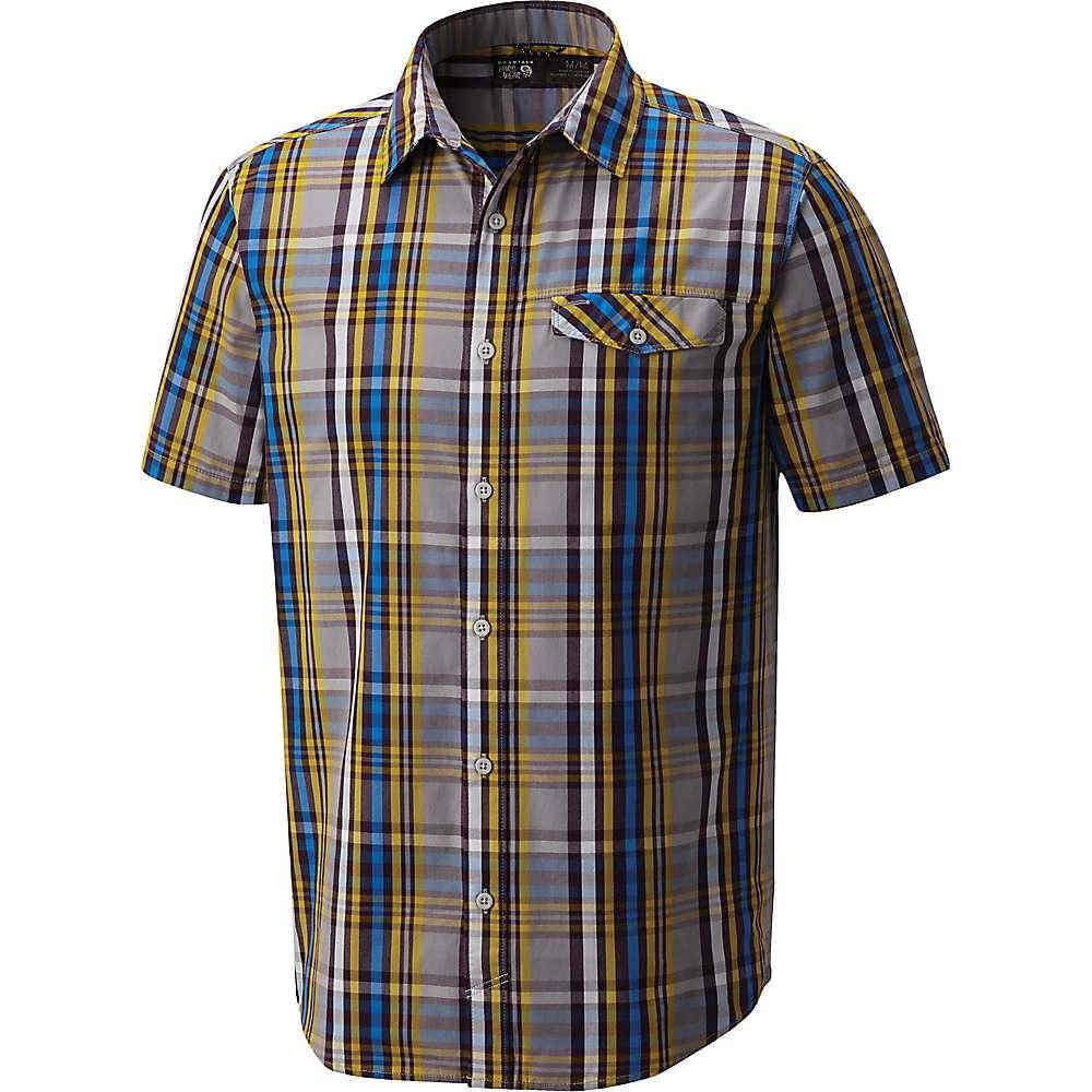 マウンテンハードウェア メンズ トップス 半袖シャツ【Farthing SS Shirt】Manta Grey