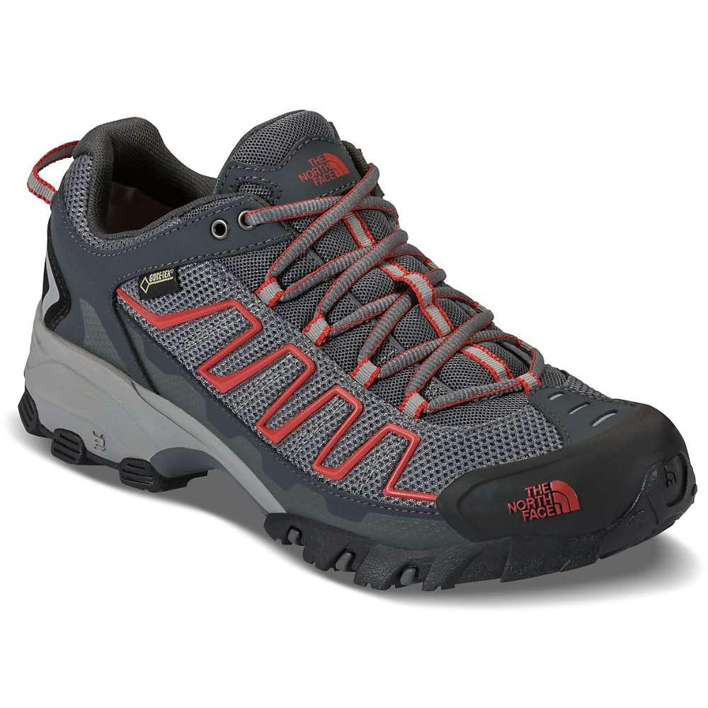 ザ ノースフェイス メンズ 陸上 シューズ・靴【Ultra 109 GTX Shoe】Zinc Grey / Pompeian Red