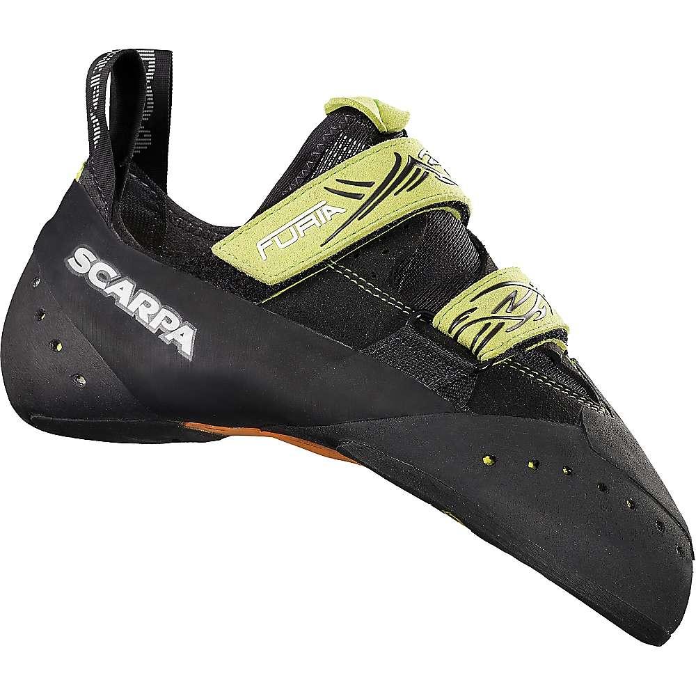 スカルパ メンズ クライミング シューズ・靴【Furia Climbing Shoe】Black / Lime